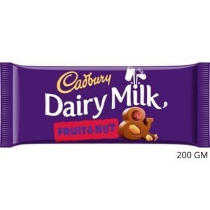 CHOCOLATE CADBURY D.M FRUIT & NUT 200 GM