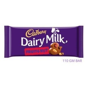 CHOCOLATE CADBURY FRUIT & NUT 110 GM