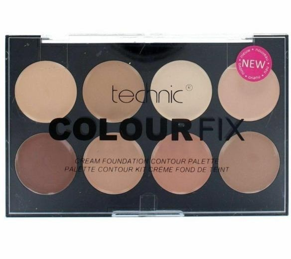 TECHNIC COLOUR FIX PRESSED POWDER CONTOUR PALETTES