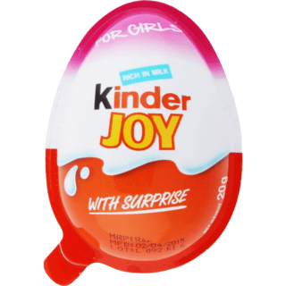 Kinder Joy Chocolate (Girls) 1 Pcs - 20g