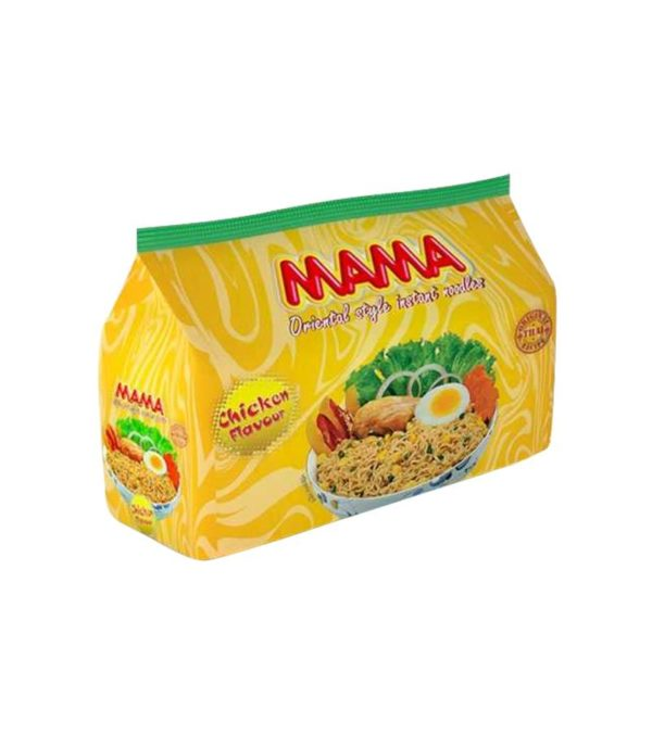 Mama Noodles Chicken Flavour 8 pcs