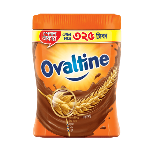 Ovaltine Malted Chocolate Drink Jar-400gm