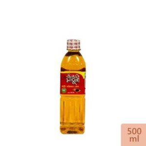 Radhuni Pure Mustard Oil - 500 ml