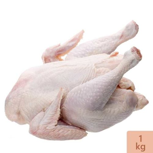 Broiler Chicken Skin On (Net Weight ± 50 gm) 1 kg