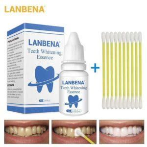 Oral Hygiene Teeth Whitening Essence Tooth Bleaching Dental (LanBeNa) Toothpaste