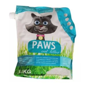 Paws Cat Litter Lavander 4.5 kg