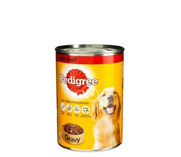 Pedigree Adult With Beef In Gravy Dog Food 400 gm