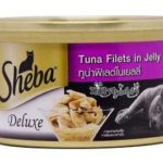 Sheba Cat Food Tuna Fillet In Jelly Can 85 gm