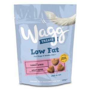 Wagg Treats Training Dog Biscuits Turkey & Rice 125 gm