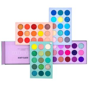 Beauty Glazed 60 Color Eyeshadow Palette