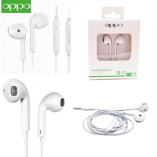 Oppo R11 In-Ear Headphone Earphone For Smartphone