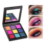 S.F.R color brand makeup shimmer matte eyeshadow palette 9 colors bright color pigment waterproof long lasting eyeshadow