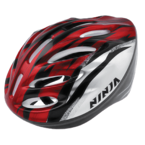 NINJA BICYCLE HELMET – RED