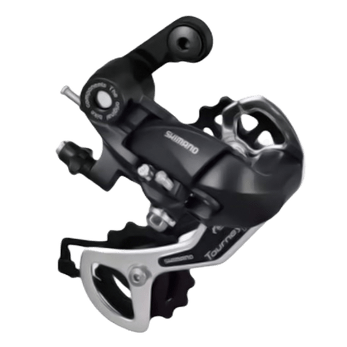 SHIMANO RD-TX35 67 ALLOY GEAR MTB DERAILLEUR (CHAI CHANGER)-BLACK-7 AND 8 SPEED