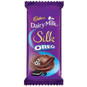 Cadbury Dairy Milk Silk Oreo Chocolate Bar, 60 gm