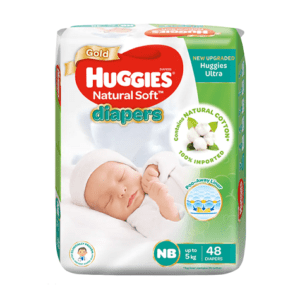 Huggies Baby Diaper Ultra New Born Belt Up to 5 kg 48 pcs