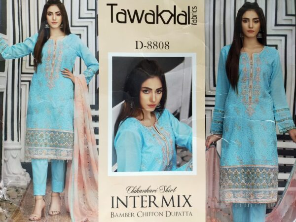 Pakistani Tawakkal Salwar Kameez for Women
