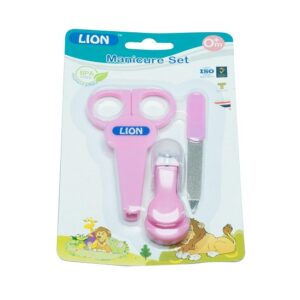 Lion Manicure Set