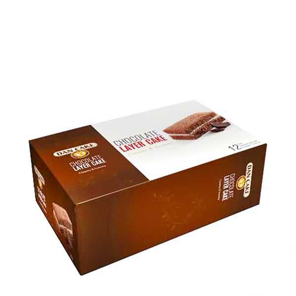 Dan Cake Chocolate Layer Cake 12 pack 360 gm